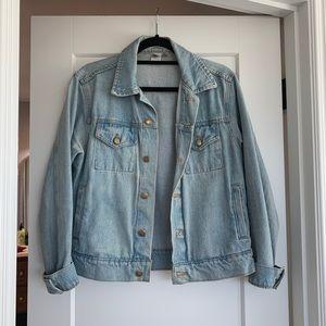 American Apparel Light Wash Denim Jacket
